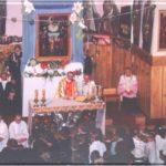 Nawiedzenie św. Józefa w kopii Obrazu Kaliskiego (21/22 maja 1995 roku)