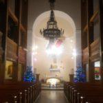 Wnętrze kościoła – Gwiazdka 2018